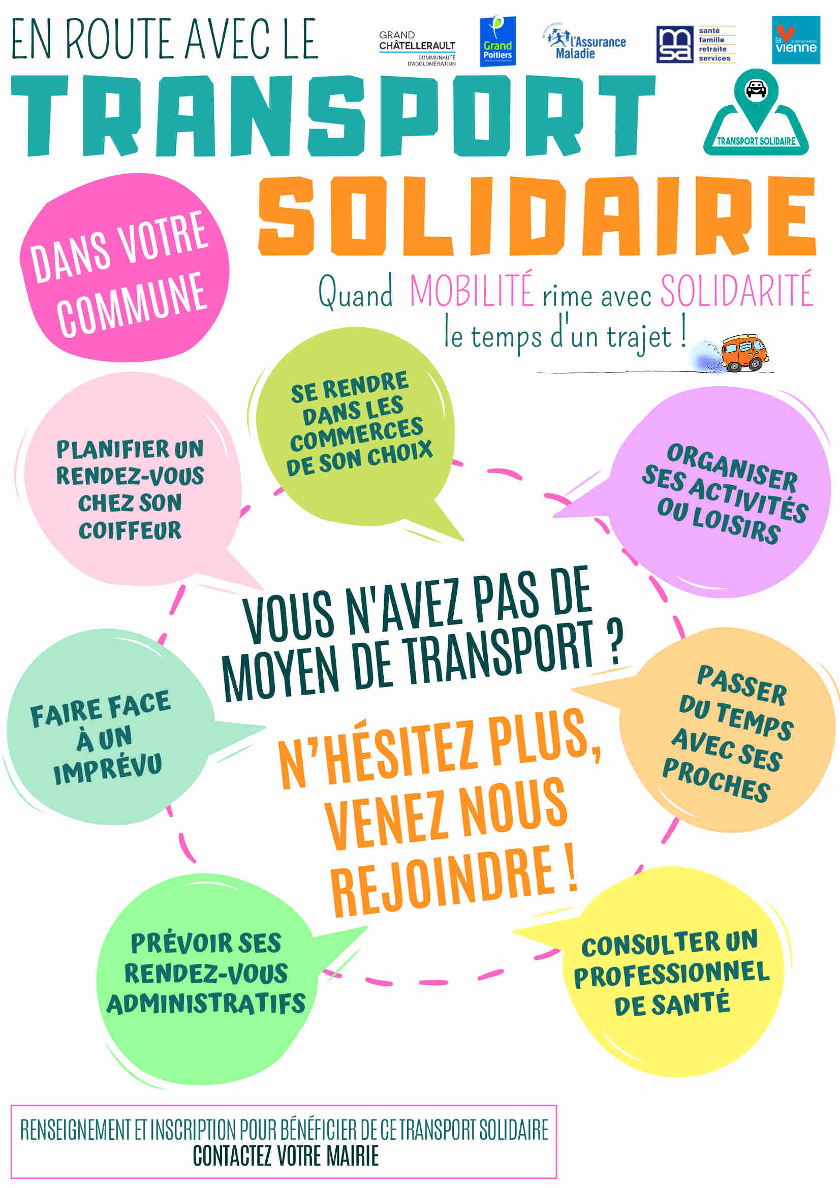 Transport Solidaire 2s2